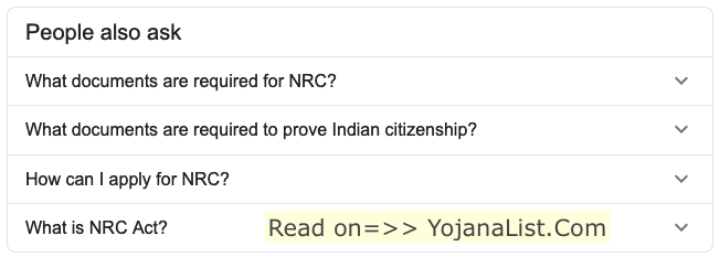 What is nrc act?